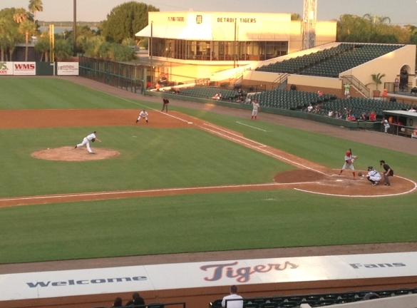 August 4th, 2012. Flying Tigers vs. Clearwater Threshers.