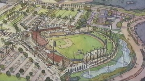 Proposed Yankee Stadium for Marion County